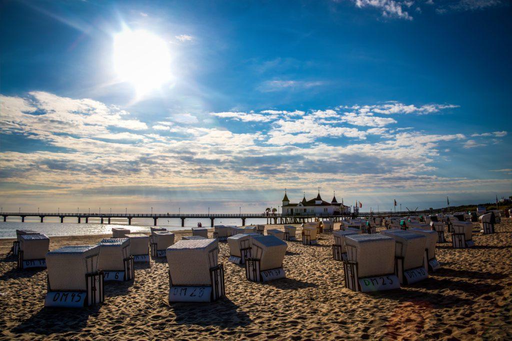Von Sonne, Sand und Strandkorb - Sommer in den Kaiserbädern
