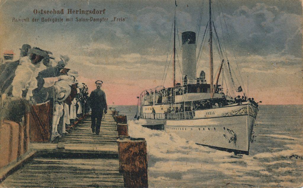 Voran! Voran! Historische Einblicke ins Reisen nach und auf Usedom